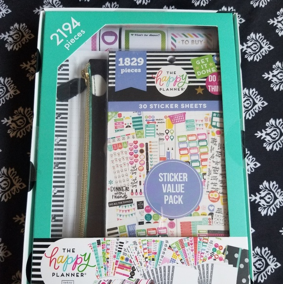 🎉SALE🎉 The Happy Planner Accessory Kit NWT